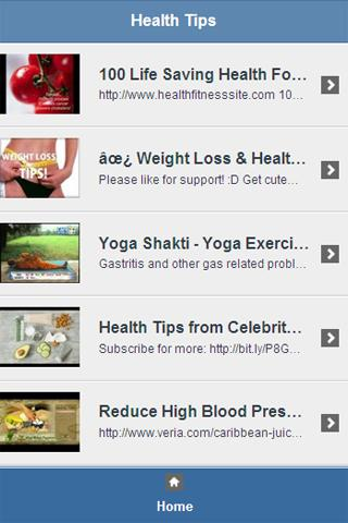 Health Tips Video