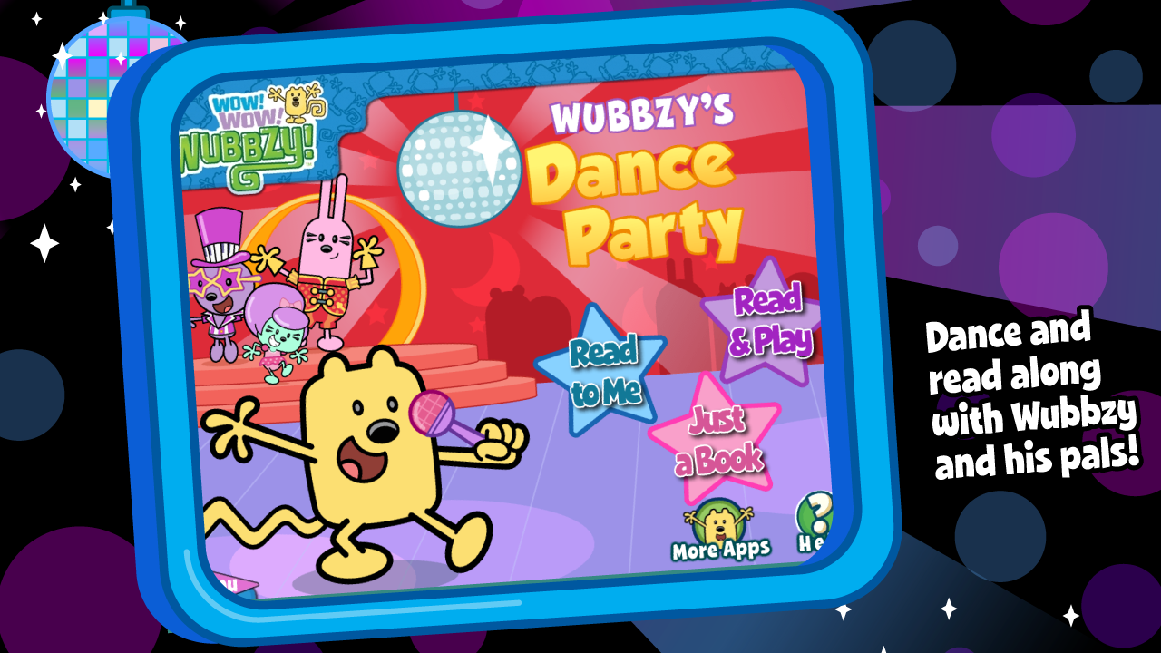 Wubbzy's Dance Party- screenshot
