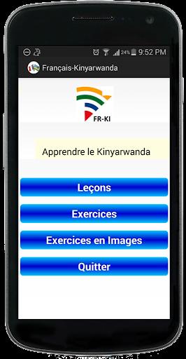 Français Kinyarwanda Demo