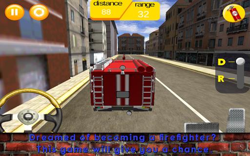 Firefighter Truck Sim