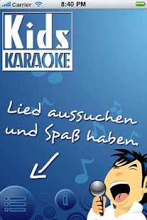 Kinderlieder Karaoke Light - screenshot thumbnail
