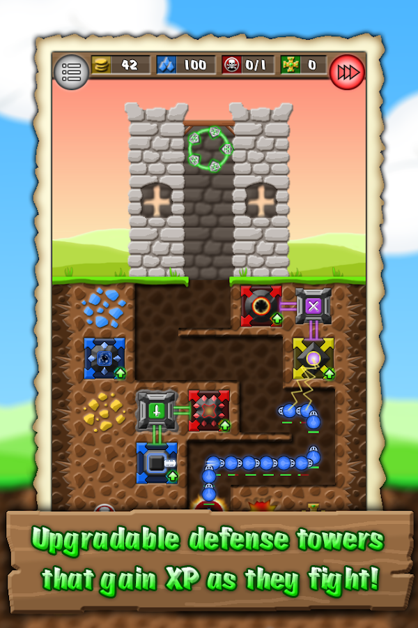 CastleMine- screenshot