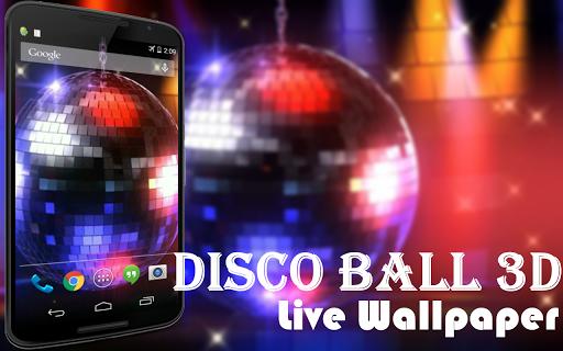 Disco Ball 3D Live Wallpaper