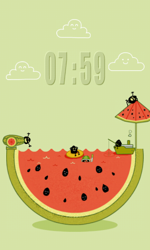 Watermelon Theme-Locker Master