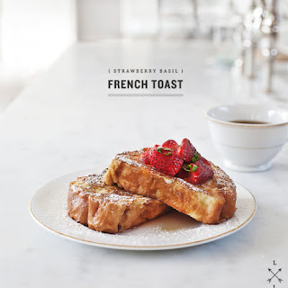 Strawberry Basil French Toast
