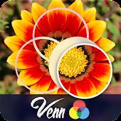 Venn Flowers: Circle Jigsaw