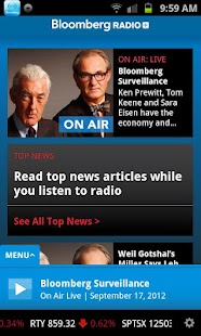 Bloomberg Radio+ - screenshot thumbnail