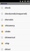 Screenshot of GRE Vocabulary Expert Pro