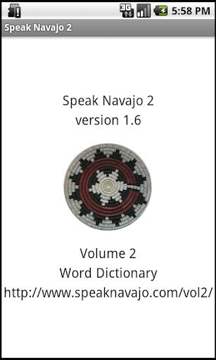 【免費教育App】Speak Navajo Volume 2 Language-APP點子
