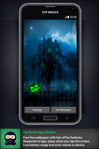 Halloween Haunted House LWP