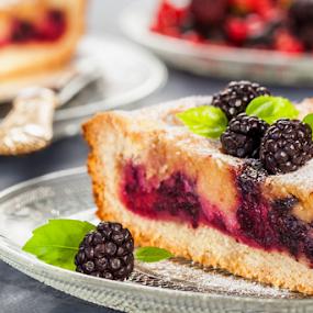 Blackberry tart by Dejan Stanic - Food & Drink Cooking & Baking ( candy, dessert, sweet )