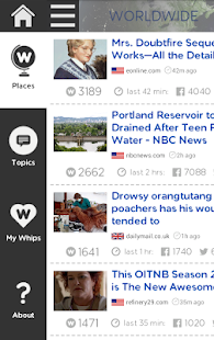 NewsWhip Screenshot 1