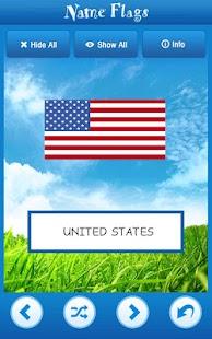 Knowledge Taps™: Name Flags- screenshot thumbnail