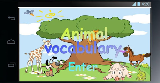 Animal Vocabulary for Kids