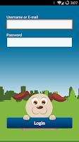 Screenshot of Swifto walker app