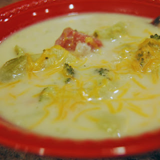 Ham, Broccoli and Cheddar Soup