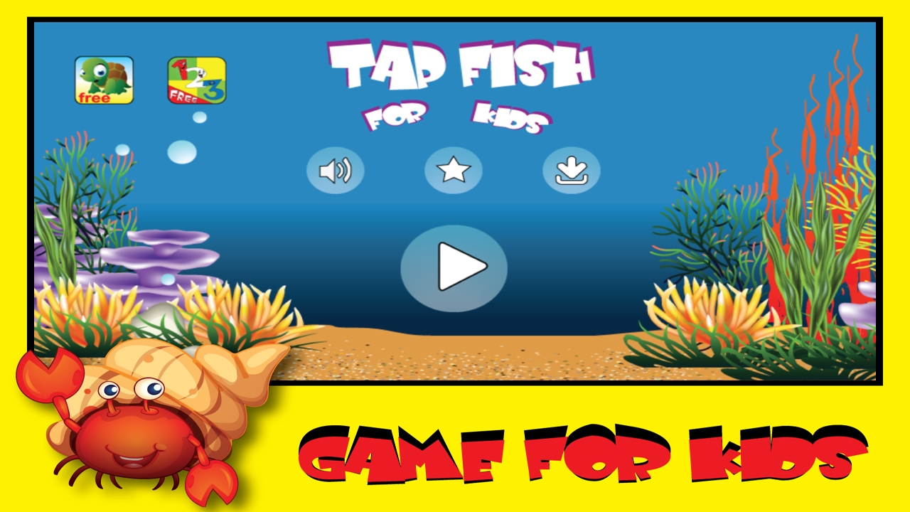 Tap fish game for kids free android apps on google play for Fish and game