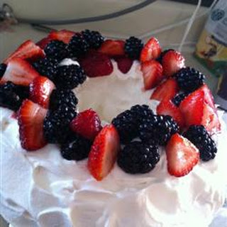 Strawberry Angels' Cake