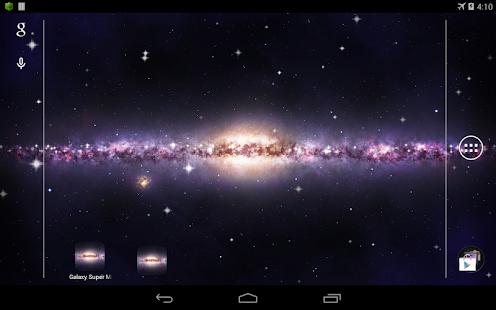 Galaxy 超級銀河系 動態桌布