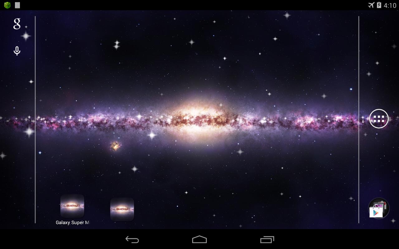 milky way galaxy live wallpaper - photo #10