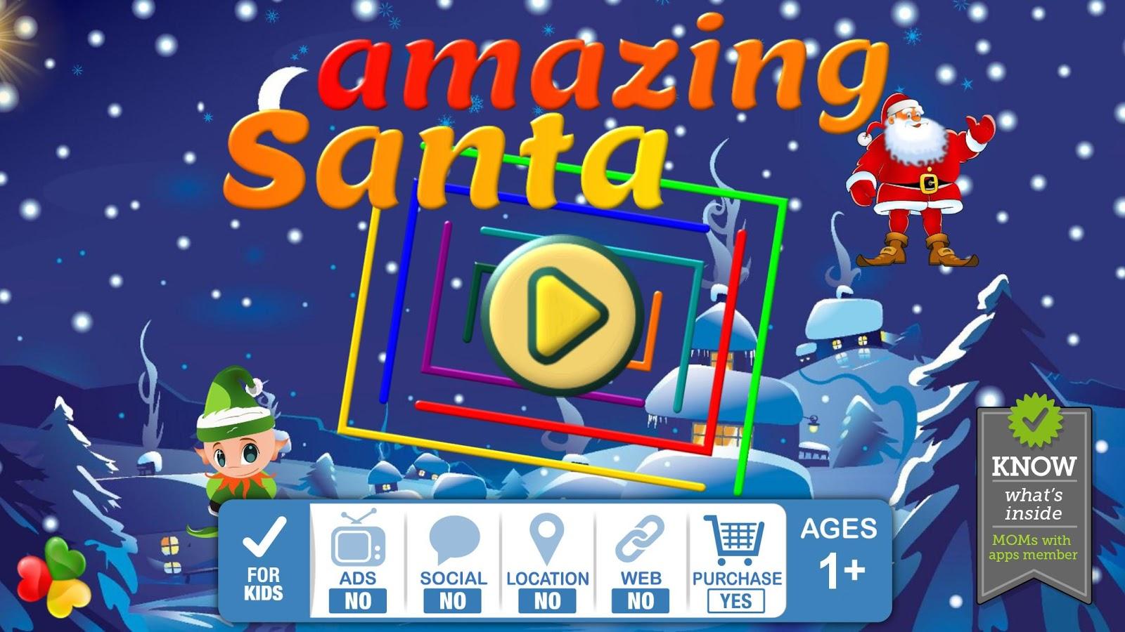 Amazing Santa - Fun Kids Games