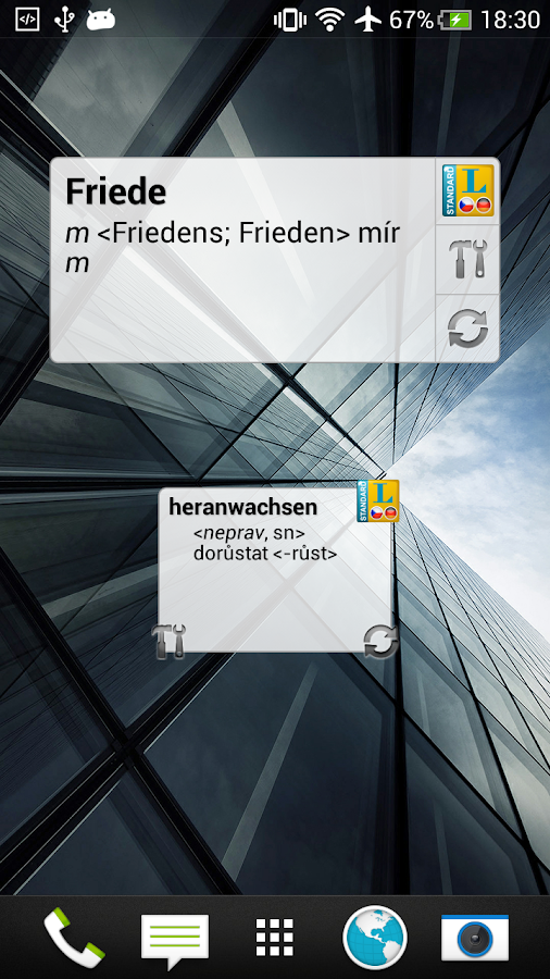 Standard Tschechisch - screenshot