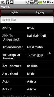 Conversational Tagalog- screenshot thumbnail