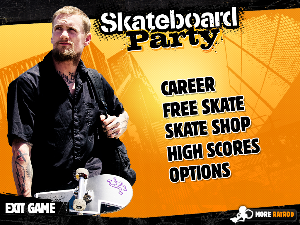 Mike V: Skateboard Party: captura de tela