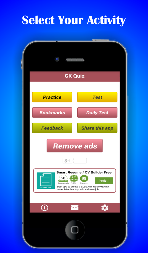 General Knowledge Quiz App: Learn and Practice- screenshot