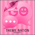 GO SMS Theme Candy Pink icon