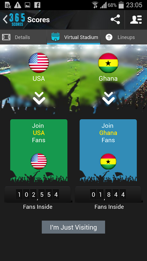 Live Sports Scores - 365Scores - screenshot