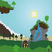 Pixel Landscape Live Wallpaper