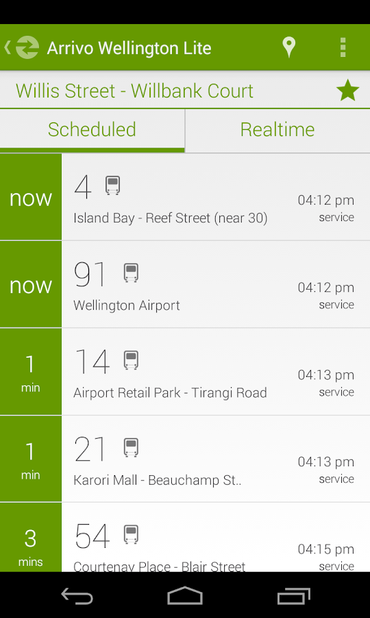 Arrivo Wellington Lite Transit - Android Apps on Google Play