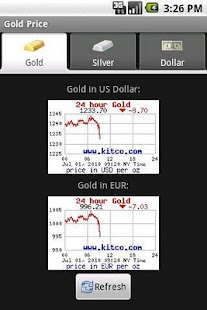 Gold Price - screenshot thumbnail