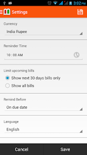 Bills Reminder - screenshot thumbnail