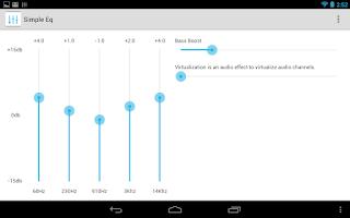 Screenshot of Equalizer Simple EQ