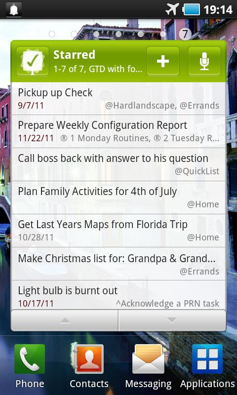 MyLifeOrganized - screenshot