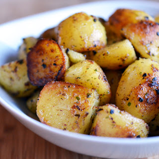 Pressure Cooker Crispy Potatoes