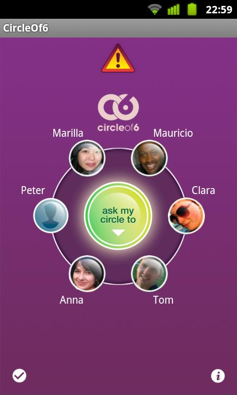 Circle of 6 - screenshot