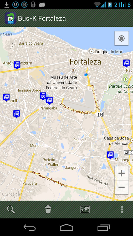 Bus-K Fortaleza- screenshot