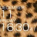 leopard pattern ③ logo