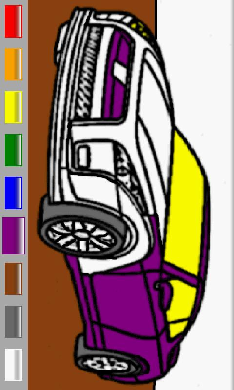 Cars Coloring Book for Kids - screenshot