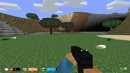 Cube Gun 3D : Zombie Island 1.0 screenshot 44164