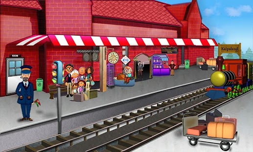 A Day At Railway Station Lite- screenshot thumbnail