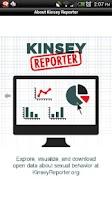 Screenshot of Kinsey Reporter