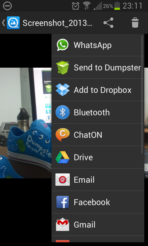Dumpster - Recycle Bin - screenshot