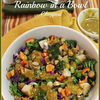Rainbow in a Bowl Chopped