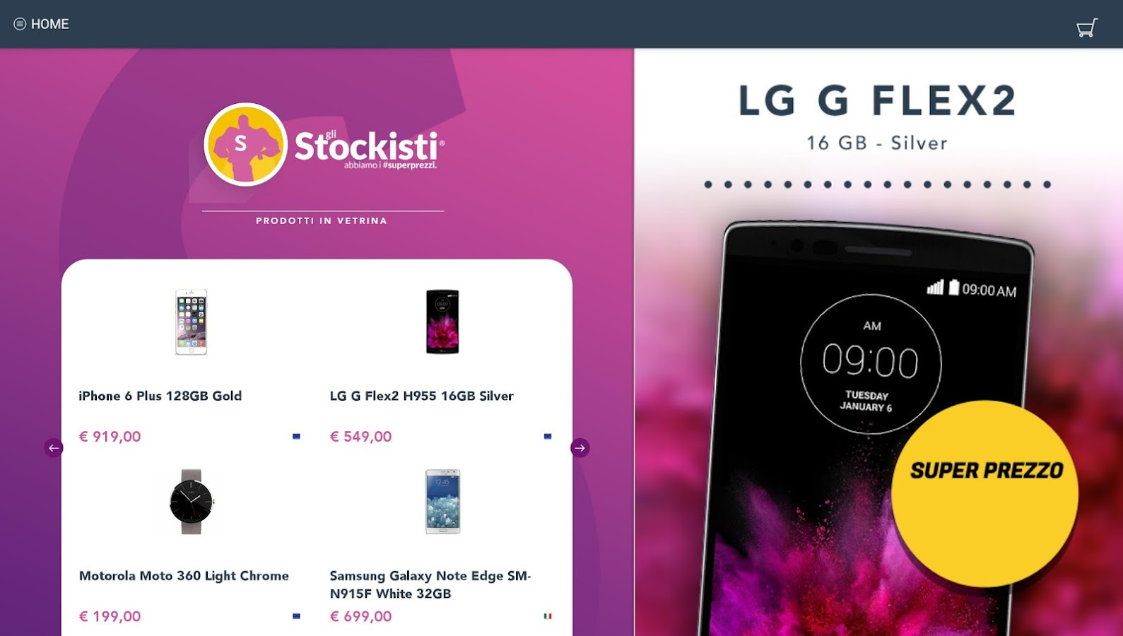 Gli Stockisti - #superprezzi - screenshot