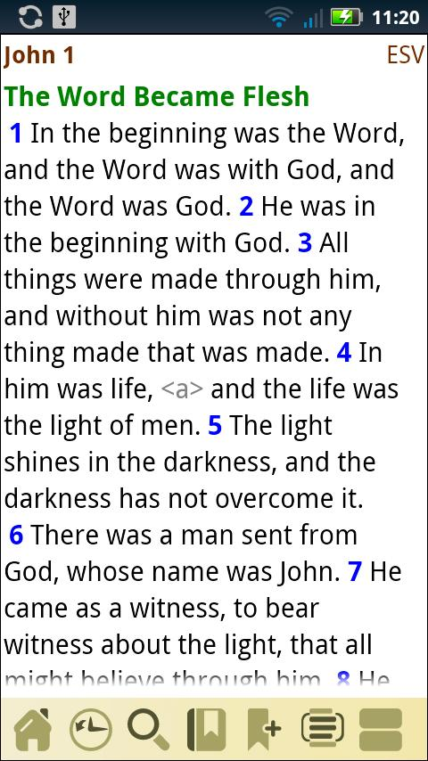 AcroBible ESV - screenshot