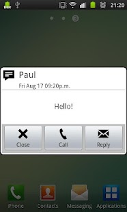 Vodafone SMS (Unofficial) - screenshot thumbnail